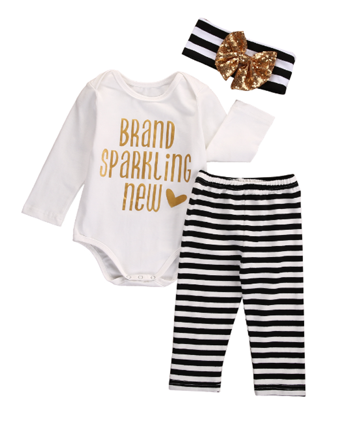 Brand Sparkling New Baby Outfit