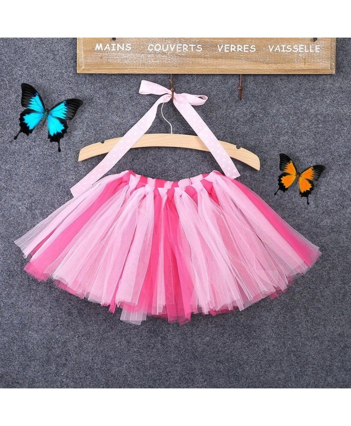 Pink Toddler Tutu, Adult Clown Collar