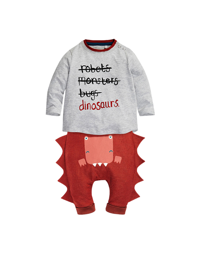 Little Dinosaur Baby Outfit