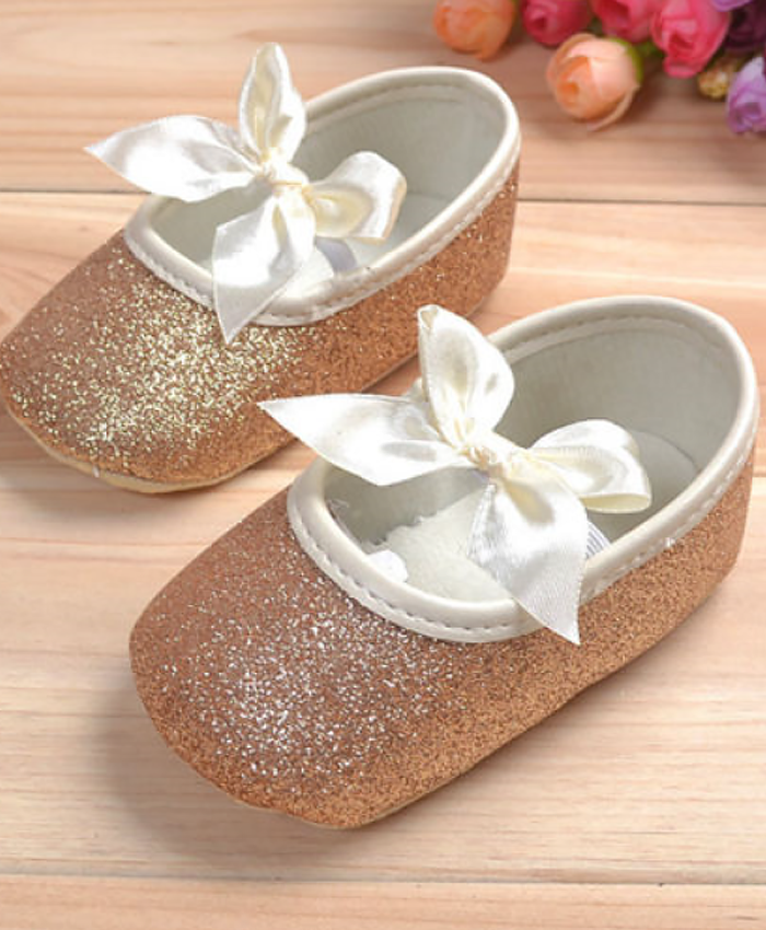 Baby Princess Gold Soft Shoes