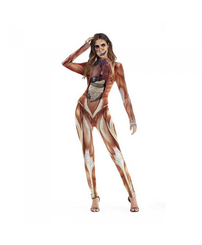 Elite Collection, Zombie Halloween Jumpsuit