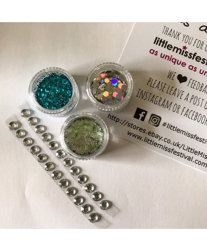 Blue Glitter Kit