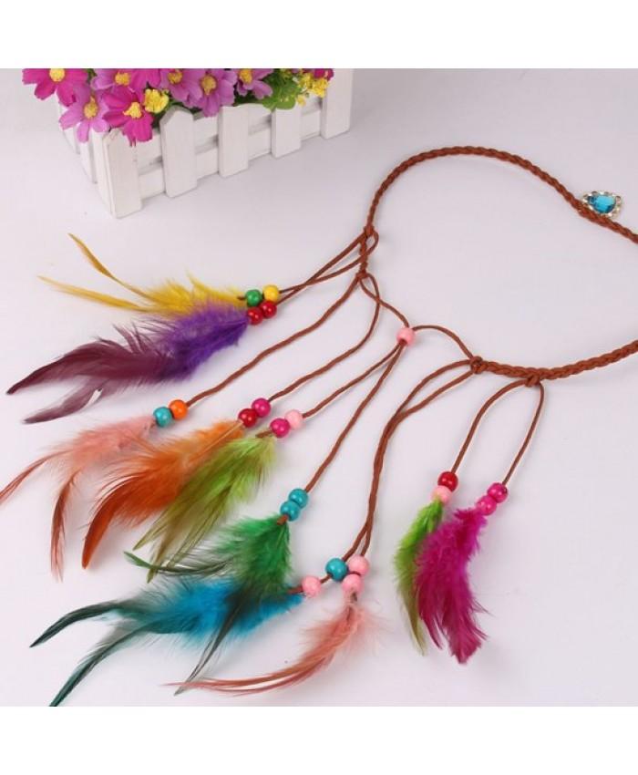 Colourful Feather Headdress