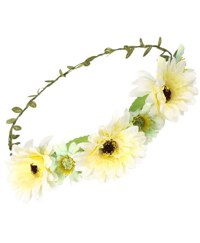 Festival Flower Head Dress