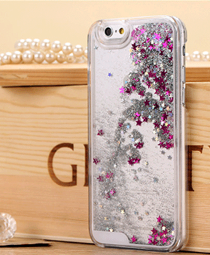 Glitter Star iPhone 6+ Case