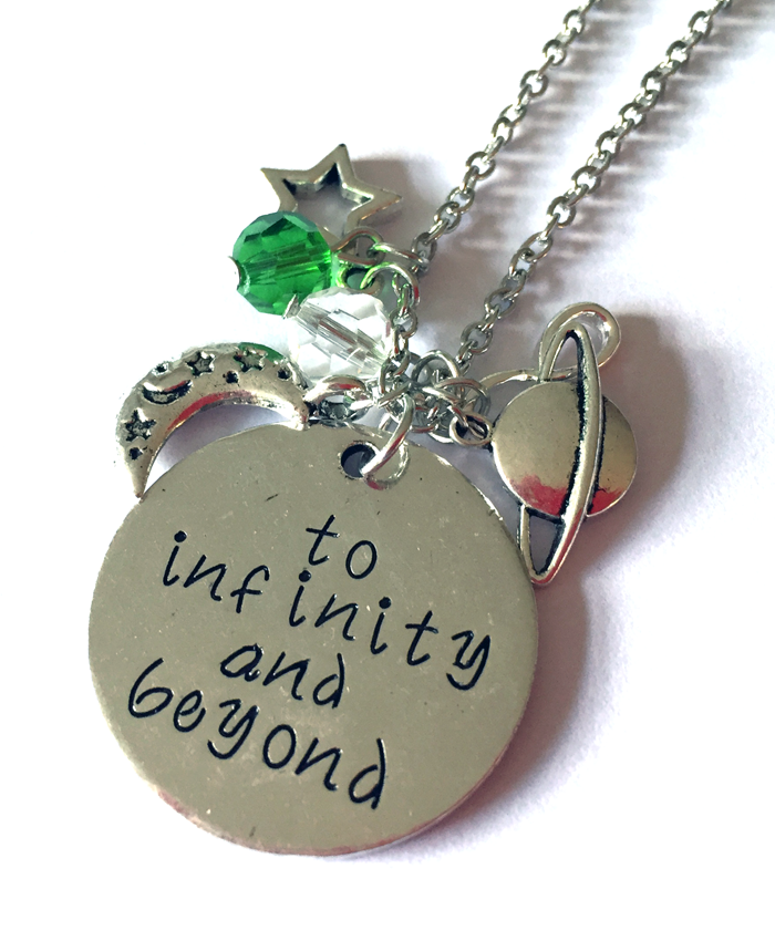 'To Infinity & Beyond' Toy Story Necklace