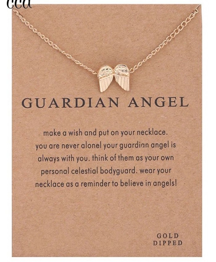 Angel Wing Necklace, Guardian Angel