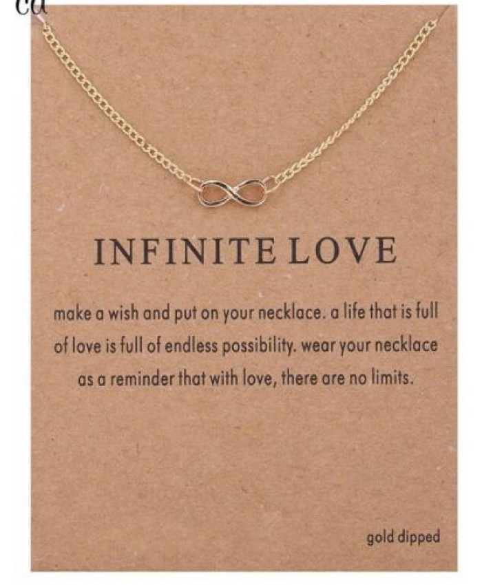 Infinite Love Necklace, Infinity Necklace