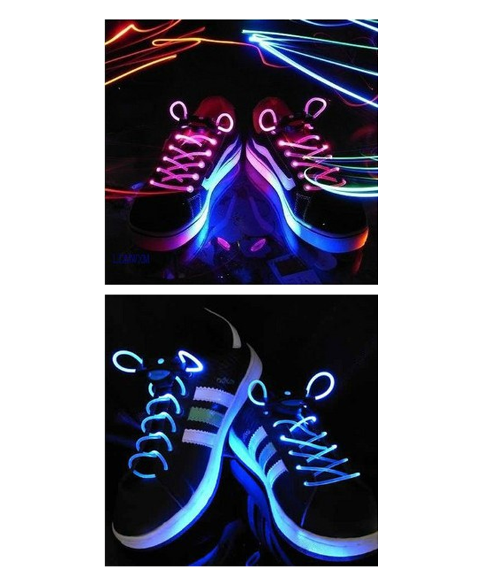 LED Glow Shoelaces