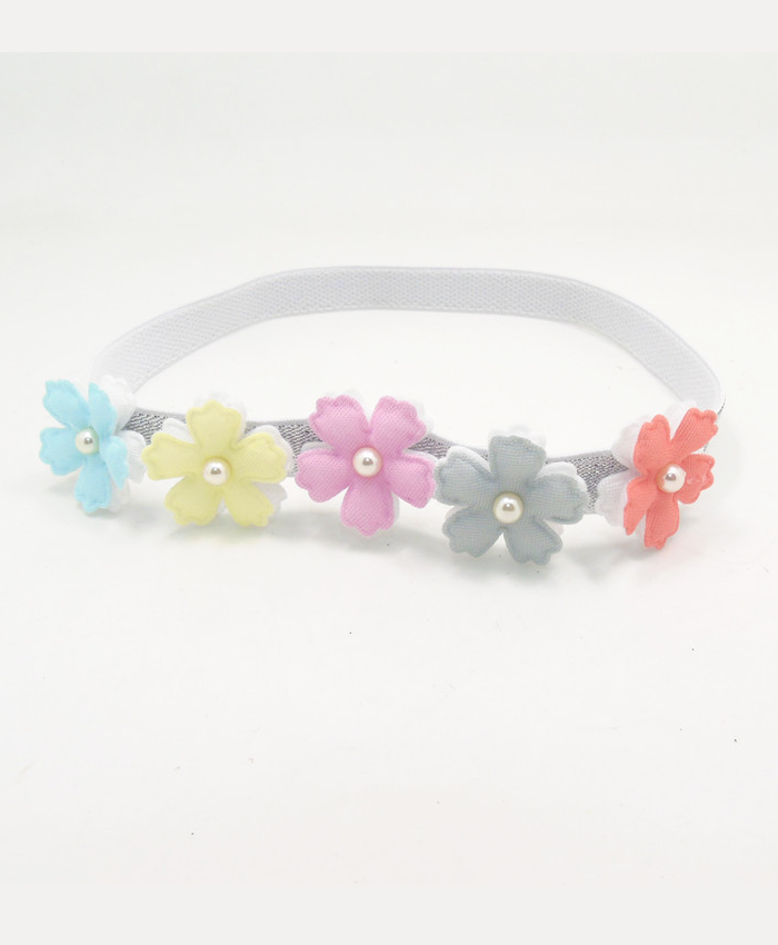 Pretty Pastel Flower Headband