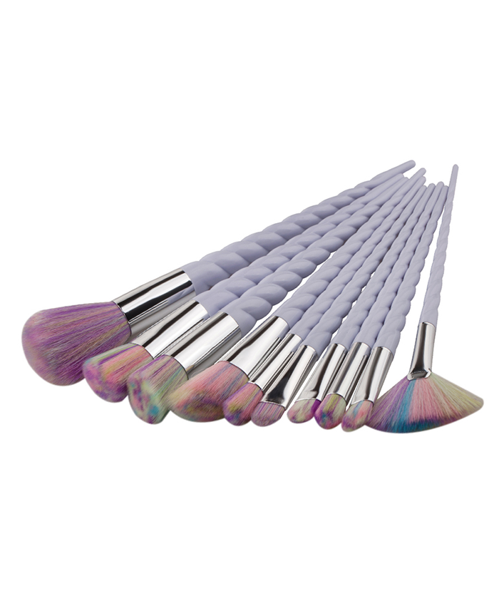 Unicorn Horn Styled Makeup Brushes