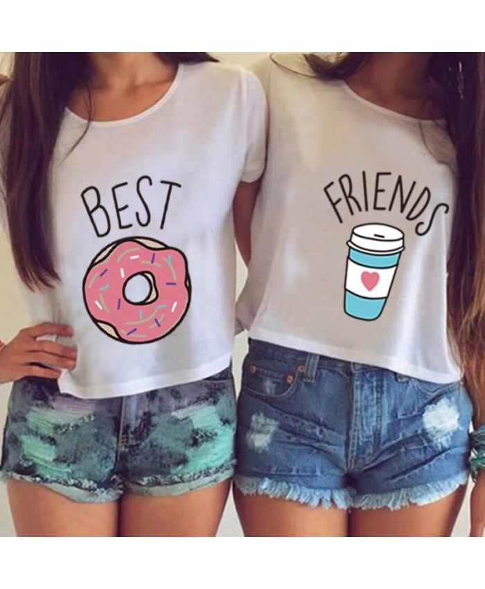 Best Friends, Coffee & Donuts T-Shirts