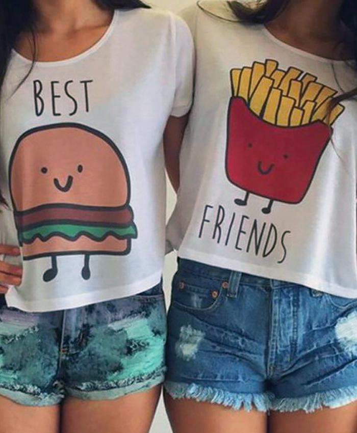 Best Friends Tee (Pair)