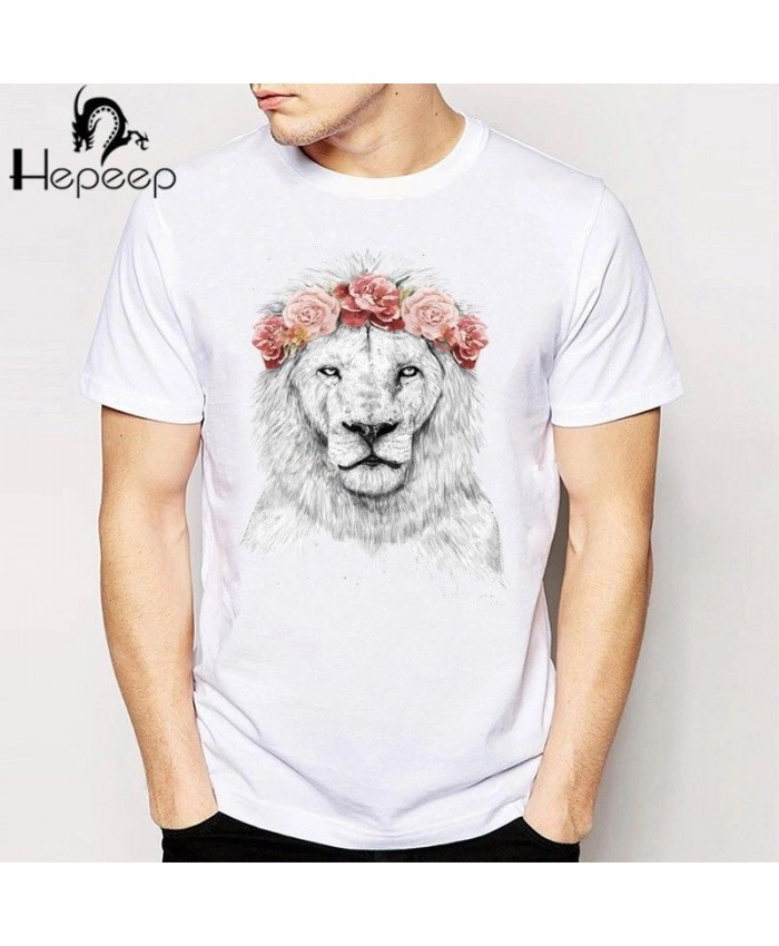 Lion Graphic Tshirt, Festival Top, Boyfriend Top