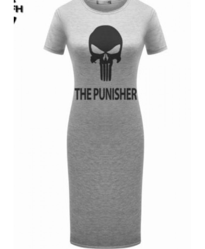 Halloween Punisher Dress