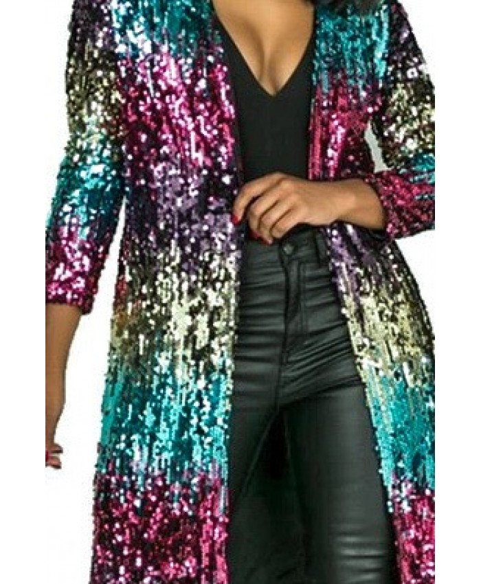Rave Babe Festival Sequin Jacket, Ultimate Bling