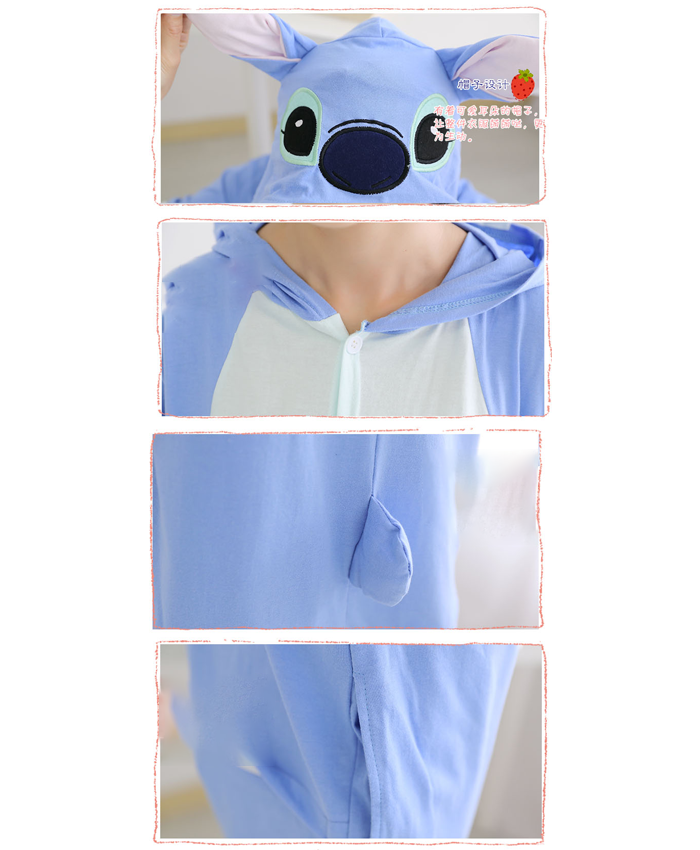 Short Animal Onsie - Stitch